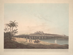 The Armenian Bridge, near St Thomas's Mount, Madras